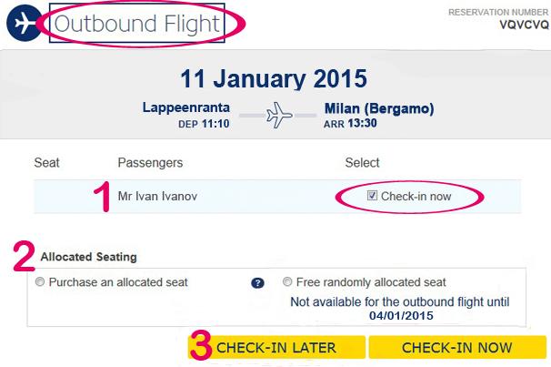 инструкция онлайн регистрация Ryanair - фото 10