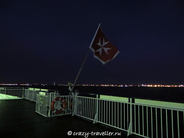 паром Принцесса Мария флаг Мальты