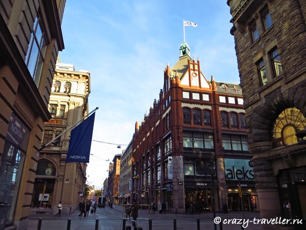 Улицы Хельсинки