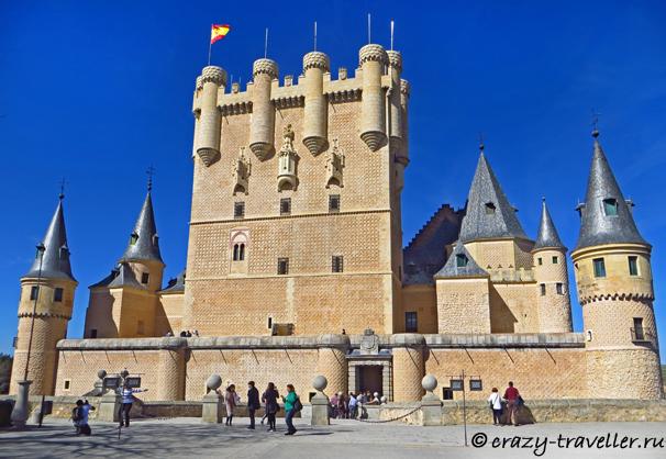 поездка из Мадрида Сеговия: однодневная поездка из Мадрида Alcazar