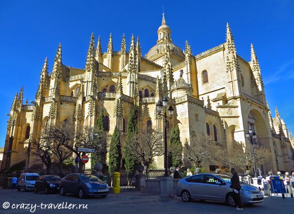 поездка из Мадрида Сеговия: однодневная поездка из Мадрида segovia cathedral