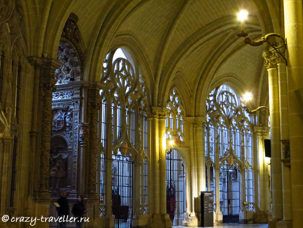 Толедо: подробности и полезные советы Толедо: подробности и полезные советы toledo cathedral inside
